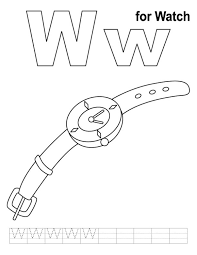 alphabet w pics watch free alphabet coloring pages wagon free