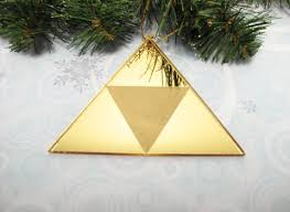 yellow triangle ornament pixel retro gaming 8bit inspired by