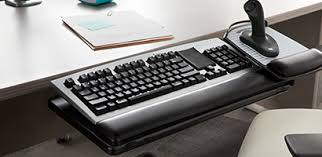 keyboard mount for desk work environment 3m workspace solutions office products