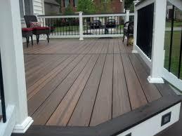 Teak Patio Flooring by Exterior Design Flooring Wooden Evergrain Decking Matched With