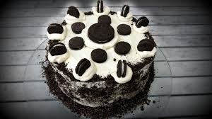 oreo cookies u0026 cream chocolate cake youtube