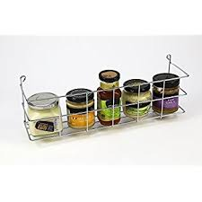 Old Fashioned Spice Rack 1 Tier Bottle And Spice Rack Holder Wall Mountable Or Kitchen