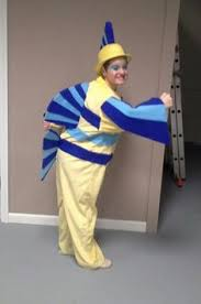 Baby Flounder Halloween Costume Simple Flounder Costume Plain Yellow Shirt