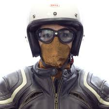 leather motorcycle helmet universal davida uk classic brown leather face mask leather
