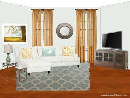 home with baxter design board and gold family room