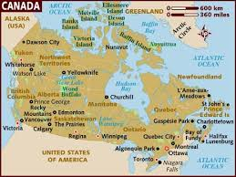 map usa lonely planet map of canada