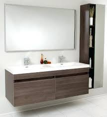 Floating Storage Cabinets Kitchen The Vanities Double Floating Vanity Gray Tall About Modern