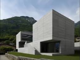 Concrete Home Designs Design Of Monolithic Concrete House With Elements Youtube