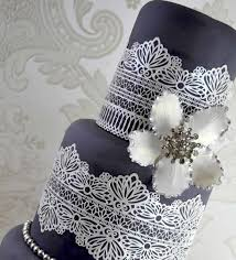 cake lace serenity 3d lace mat cake lace mat by bowman designs i
