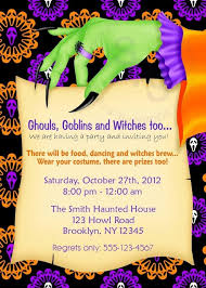 halloween birthday invitation ideas image collections invitation
