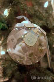 handmade holidays creating a baby keepsake ornament third stop