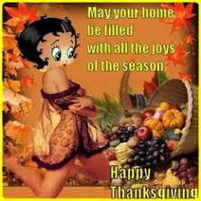betty boop thanksgiving clipart 29