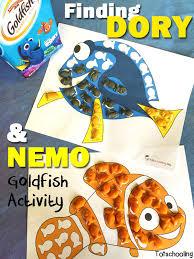 free finding dory u0026 nemo goldfish crackers printable free