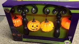 spirit halloween gothic pumpkin pathway lights youtube