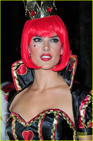 alessandra ambrosio queen of hearts u0027alice in wonderland u0027 costume