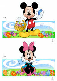mickey mouse easter eggs printables