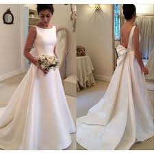 wedding dress a line classic wedding dress satin wedding dresses a line wedding dress