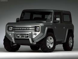 Fords New Bronco Ford Bronco Concept 2004