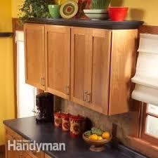 Top Of Kitchen Cabinet Decor Ideas 137 Best Diy Kitchen Cabinets Images On Pinterest Home Kitchen