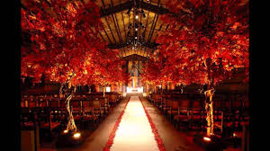 red wedding theme ideas youtube