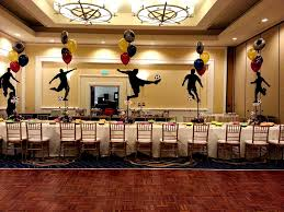 fish net decoration best bar mitzvah centerpieces ideas on