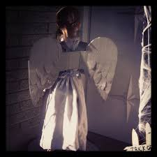 halloween angel wings diy weeping angel wings girlsvsblog