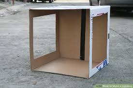 how to make a photo light box 3 ways to make a lightbox wikihow