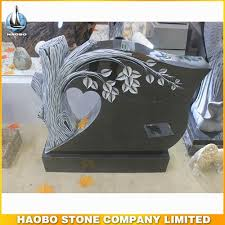 headstone designs cheap beautiful carved tree india mist granite headstone designs for