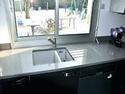 plan de travail cuisine en quartz plan de travail cuisine quartz gris idée de modèle de cuisine