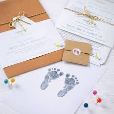baby hand and foot inkless print kit by elizabeth jane