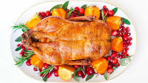 oven roasted whole duck thanksgiving menu