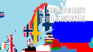 European Countries Flag All European Countries And Their Flag And Capital Youtube