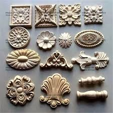 wood carving furniture appliques onlays antique wood home ornaments