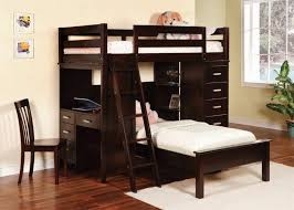 Twin Size Bunk Beds With Stairs  Modern Storage Twin Bed Design - Twin bunk bed dimensions