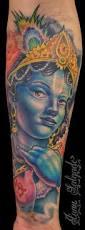 krishna tattoo by juan salgado tattoonow