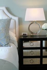 fresh wood and mirrored nightstand 30 in small home remodel ideas