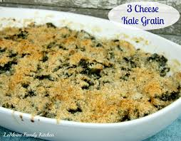 3 cheese kale gratin lemoine family kitchen