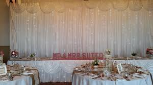 wedding backdrop gumtree wedding chair cover sashes starlit backdrop letters