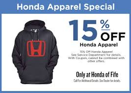 parts department coupons specials honda of fife