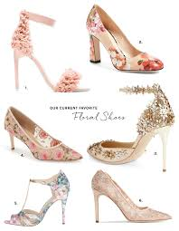floral shoes for your wedding green wedding shoes