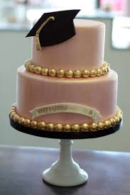 graduation cakes gorgeous graduation cake in real with the gold accents for his