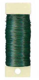 floral wire floral wire green paddle wire 26 4 oz