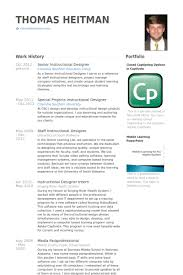 Designers Resume Samples by Chic Design Instructional Designer Resume 8 Instructional Designer
