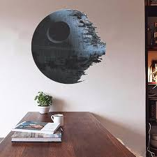 Removable Wall Decals For Bedroom 45cm Removable Death Star Wars Wall Stickers Art Vinyl Decal Kids