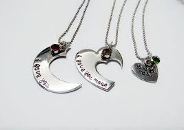 grandmother necklace heart shape jewelry sted 3