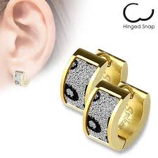 hoop huggie men s and small hoop huggie style earrings 925express