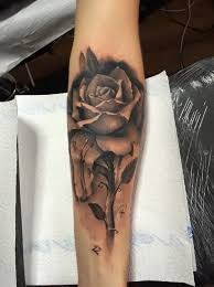 black on forearm