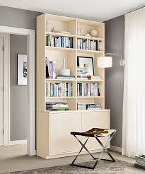 Room And Board Bookcase Space Saving Custom Storage For Small Footprints