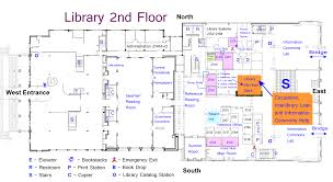 library floor plans maps and directions tcu mary couts burnett