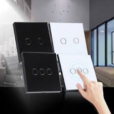 touch screen wall light switch newest 2 3 gang smart touch screen wall control light switch crystal